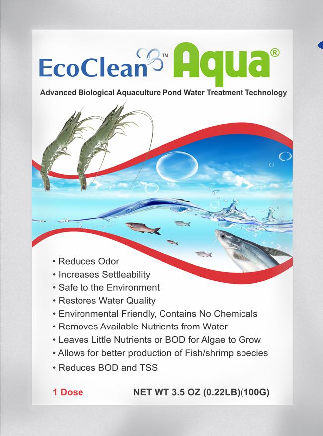EcoCleanTM AQUA - Vi sinh xử lý nước ao nuôi và phụ gia thức ăn