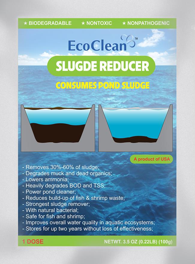 EcoCleanTM Sludge Reducer - Vi sinh xử lý đáy ao